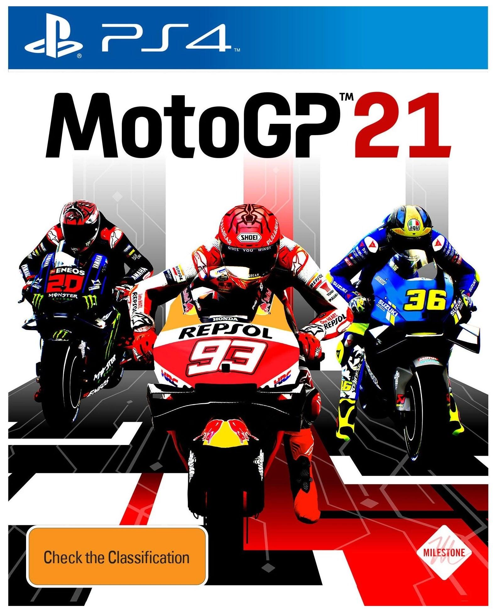 Milestone MotoGP 21 PS4 Playstation 4 Game