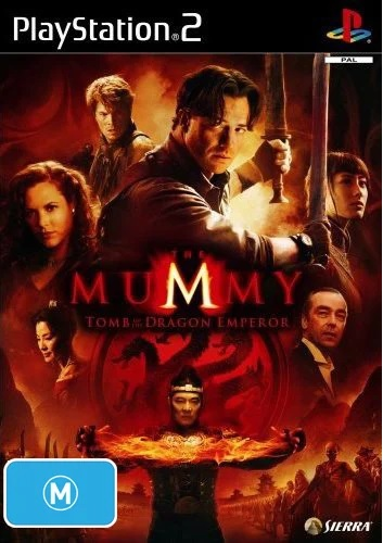 Vivendi Mummy Tomb Of The Dragon Emperor Refurbished PS2 Playstation 2 Game