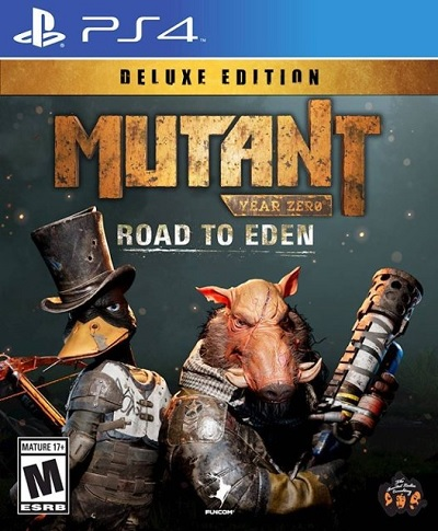Funcom Mutant Year Zero Road To Eden Deluxe Edition Refurbished PS4 Playstation 4 Game