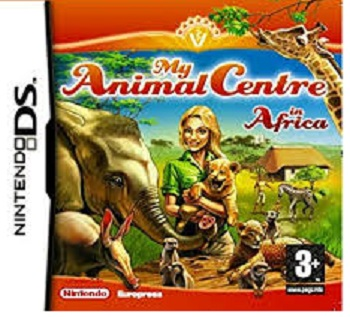 Europress My Animal Centre in Africa Nintendo DS Game