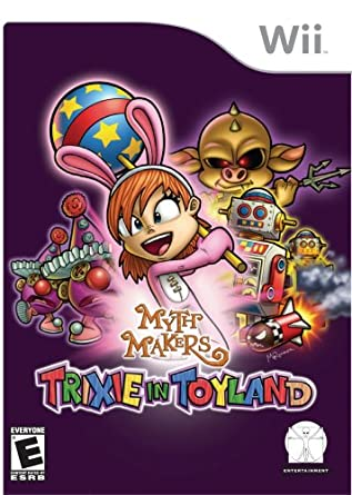 Metro3D Myth Makers Trixie In Toyland Refurbished Nintendo Wii Game