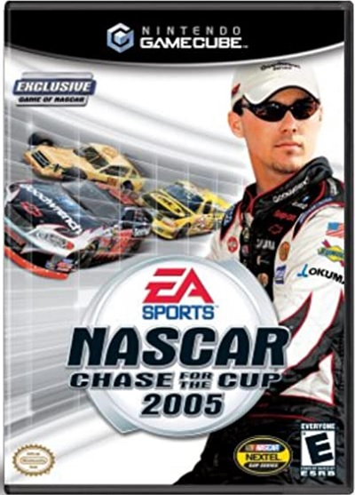 Electronic Arts NASCAR 2005 Chase For The Cup GameCube Game