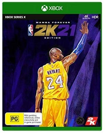 2k Sports NBA 2K21 Mamba Forever Edition Xbox X Game