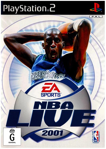 Electronic Arts NBA Live 2001 PS2 Playstation 2 Game