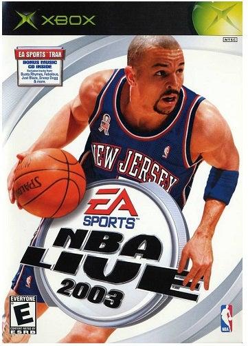 Electronic Arts NBA Live 2003 Xbox Game
