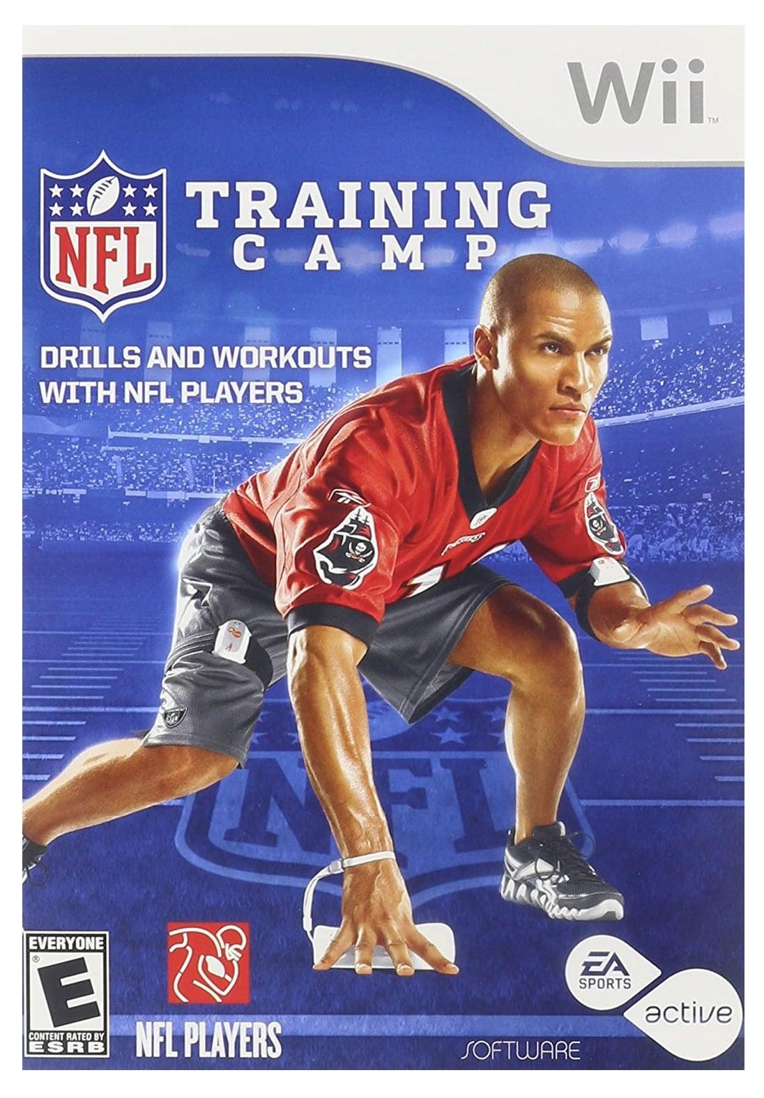 Electronic Arts NFL Training Camp Nintendo Wii Game
