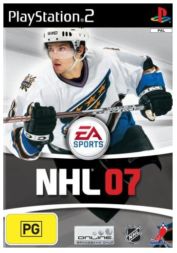 Electronic Arts NHL 07 Refurbished PS2 Playstation 2 Game