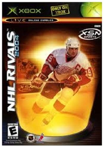 Microsoft NHL Rivals 2004 Xbox Game