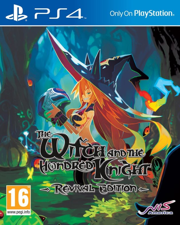 NIS The Witch and the Hundred Knight Revival Edition PS4 Playstation 4 Game