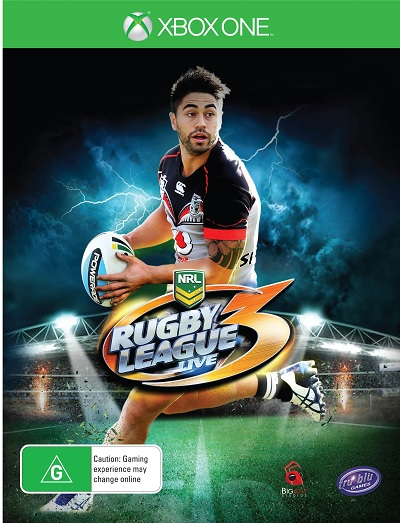 Tru Blu Entertainment NRL Rugby League Live 3 Xbox One Game