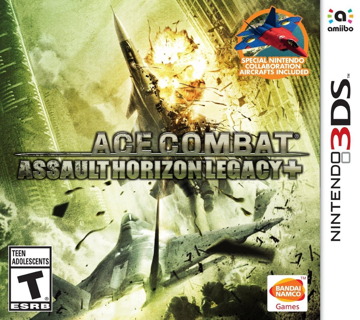 Namco Ace Combat Assault Horizon Legacy 3D Nintendo 3DS Games