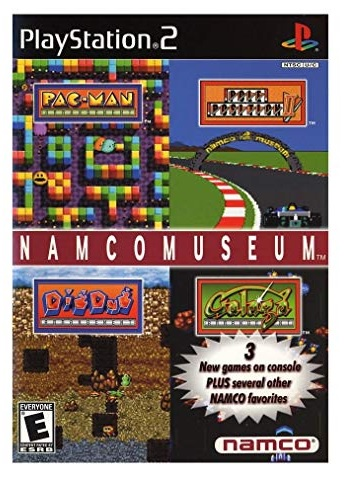 Namco Museum PS2 Playstation 2 Game
