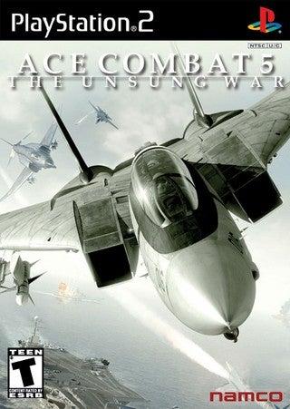 Namco Ace Combat 5 The Unsung War PS2 Playstation 2 Game