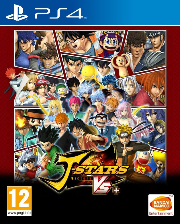 Namco J Stars Victory Vs Plus PS4 Playstation 4 Game