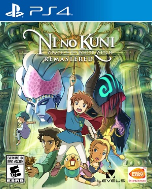Namco Ni No Kuni Wrath Of The White Witch Remastered PS4 Playstation 4 Game