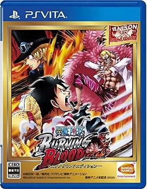 Namco One Piece Burning Blood Anison Sound Edition PS Vita Game