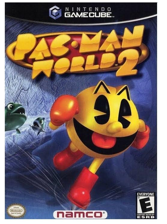 Namco Pac Man World 2 GameCube Game