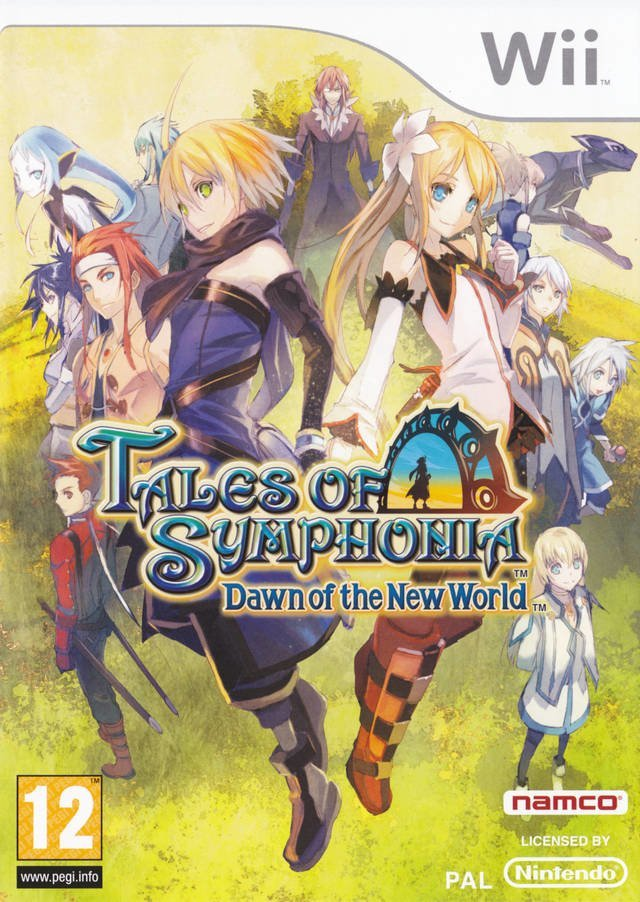 Namco Tales of Symphonia Dawn of the New World Nintendo Wii Game