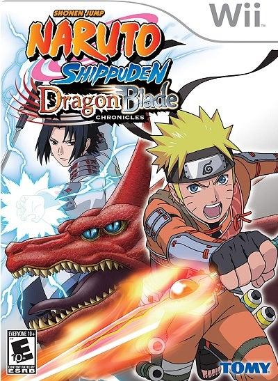 505 Games Naruto Shippuden Dragon Blade Chronicles Nintendo Wii Game