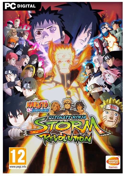 Bandai Naruto Shippuden Ultimate Ninja Storm Revolution PC Game