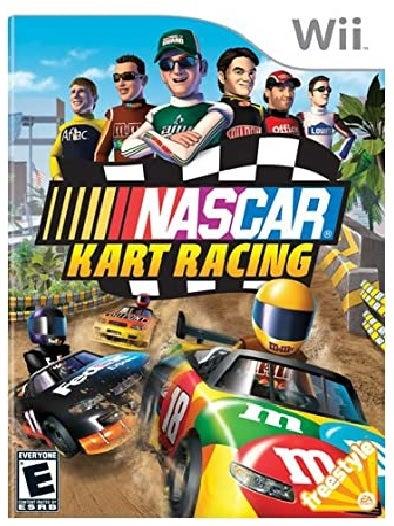 Electronic Arts Nascar Kart Racing Nintendo Wii Game