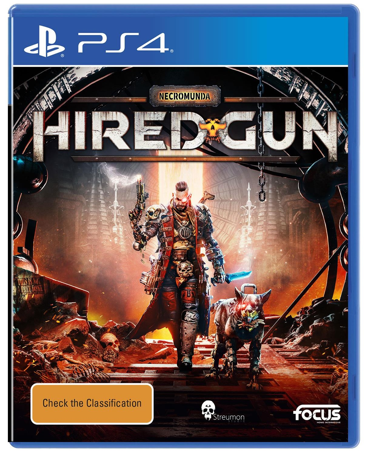 Focus Home Interactive Necromunda Hired Gun PS4 Playstation 4 Game