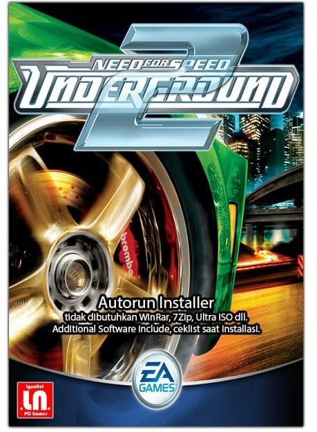 Electronic Arts Need For Speed Underground 2 Refurbished PC Game