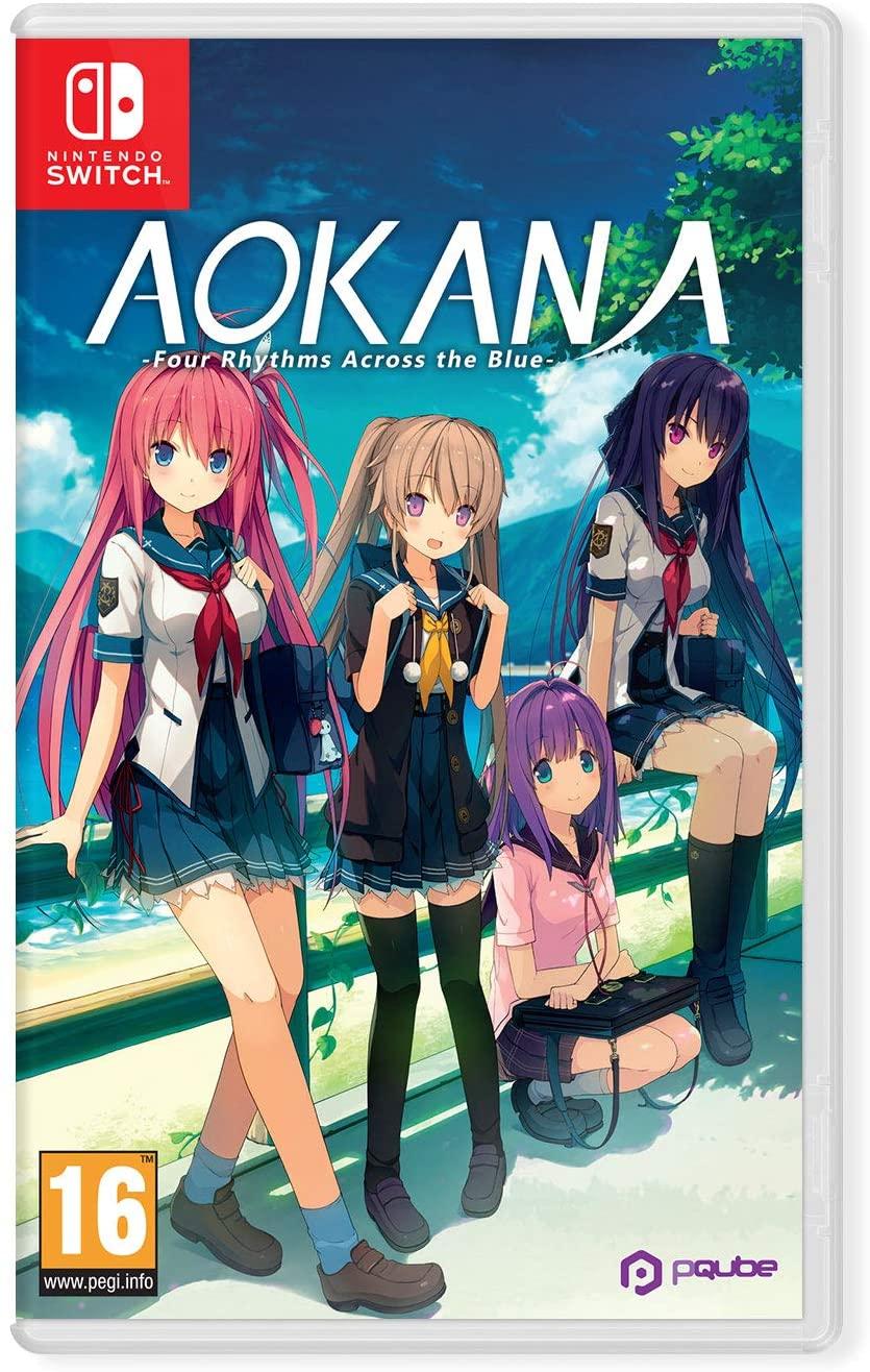 NekoNyan Aokana Four Rhythms Across The Blue Nintendo Switch Game