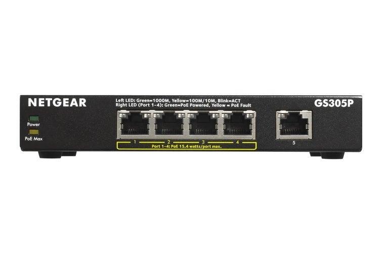 Netgear GS305P-100AUS Networking Switch