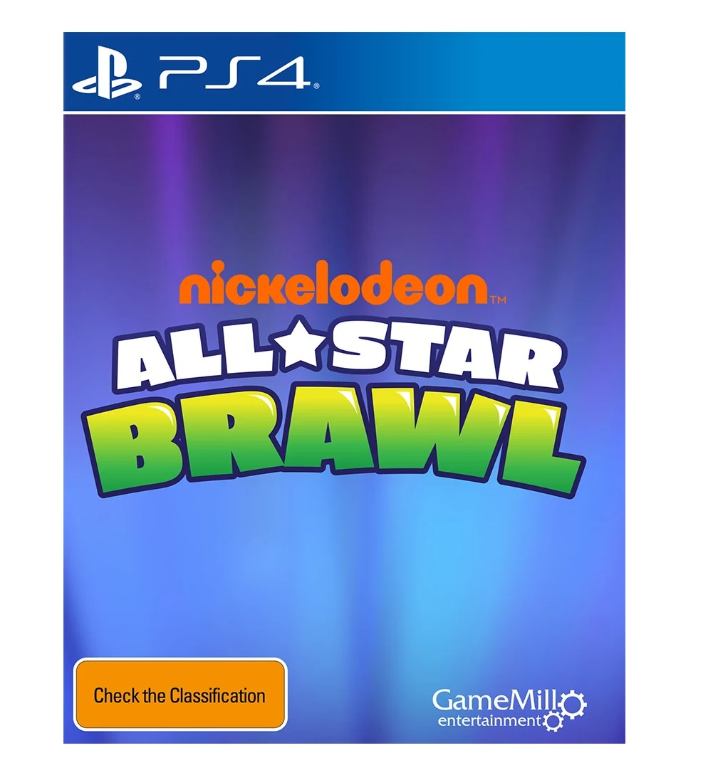 GameMill Entertainment Nickelodeon All Star Brawl PS4 Playstation 4 Game