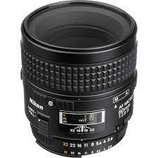Nikon AF Micro Nikkor 60mm F2.8D Refurbished Lens