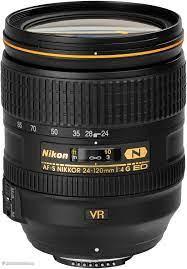 Nikon AF-S Nikkor 24-120mm F4G ED VR Refurbished Lens