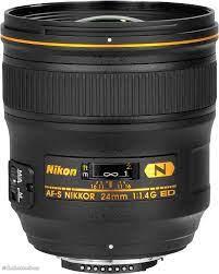 Nikon AF-S Nikkor 24mm F1.4G ED Refurbished Lens