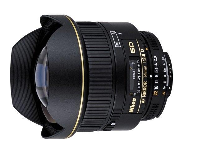 Nikon AF Nikkor 14mm F2.8 ED Lens