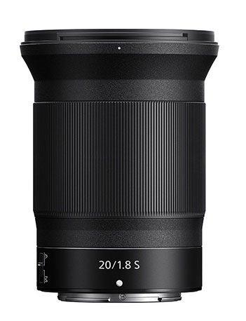 Nikon Nikkor Z 20mm F1.8 S Lens