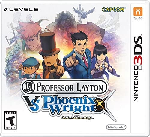 Nintendo Professor Layton Vs Ace Attorney Nintendo 3DS Game