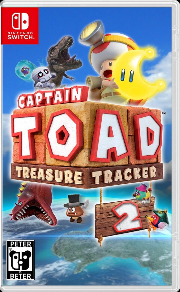 Nintendo Captain Toad Treasure Tracker Nintendo Switch Game