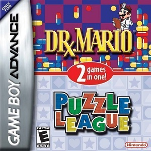 Nintendo Dr Mario And Puzzle League GameBoy Game