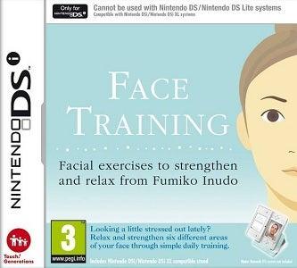 Nintendo Face Training From Fumiko Inudo Nintendo DS Game