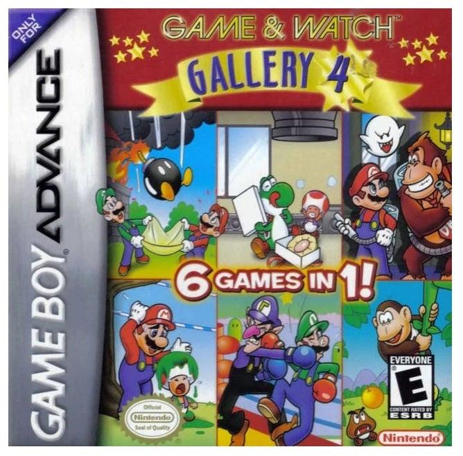 Nintendo Game & Watch Gallery 4 GameBoy Game