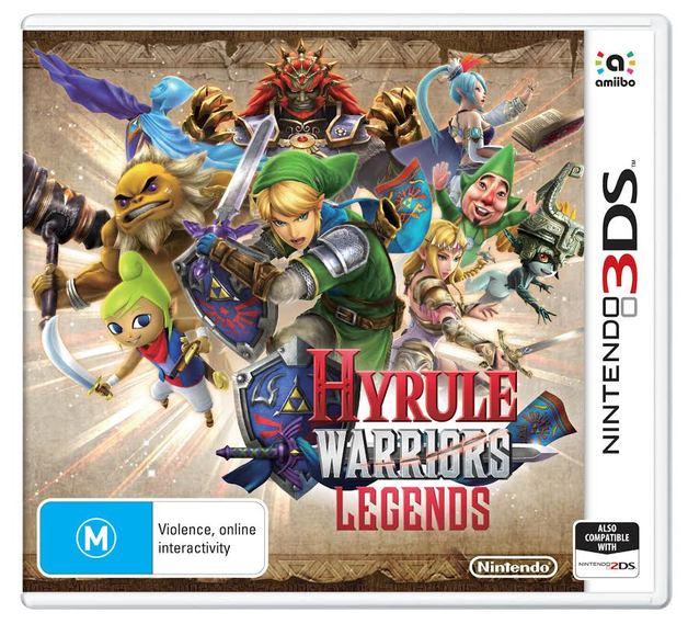 Nintendo Hyrule Warriors Legends Nintendo 3DS Game