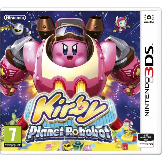 Nintendo Kirby Planet Robobot Nintendo 3DS Game