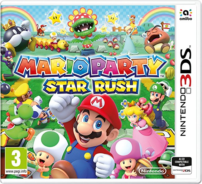 Nintendo Mario Party Star Rush Nintendo 3DS Game
