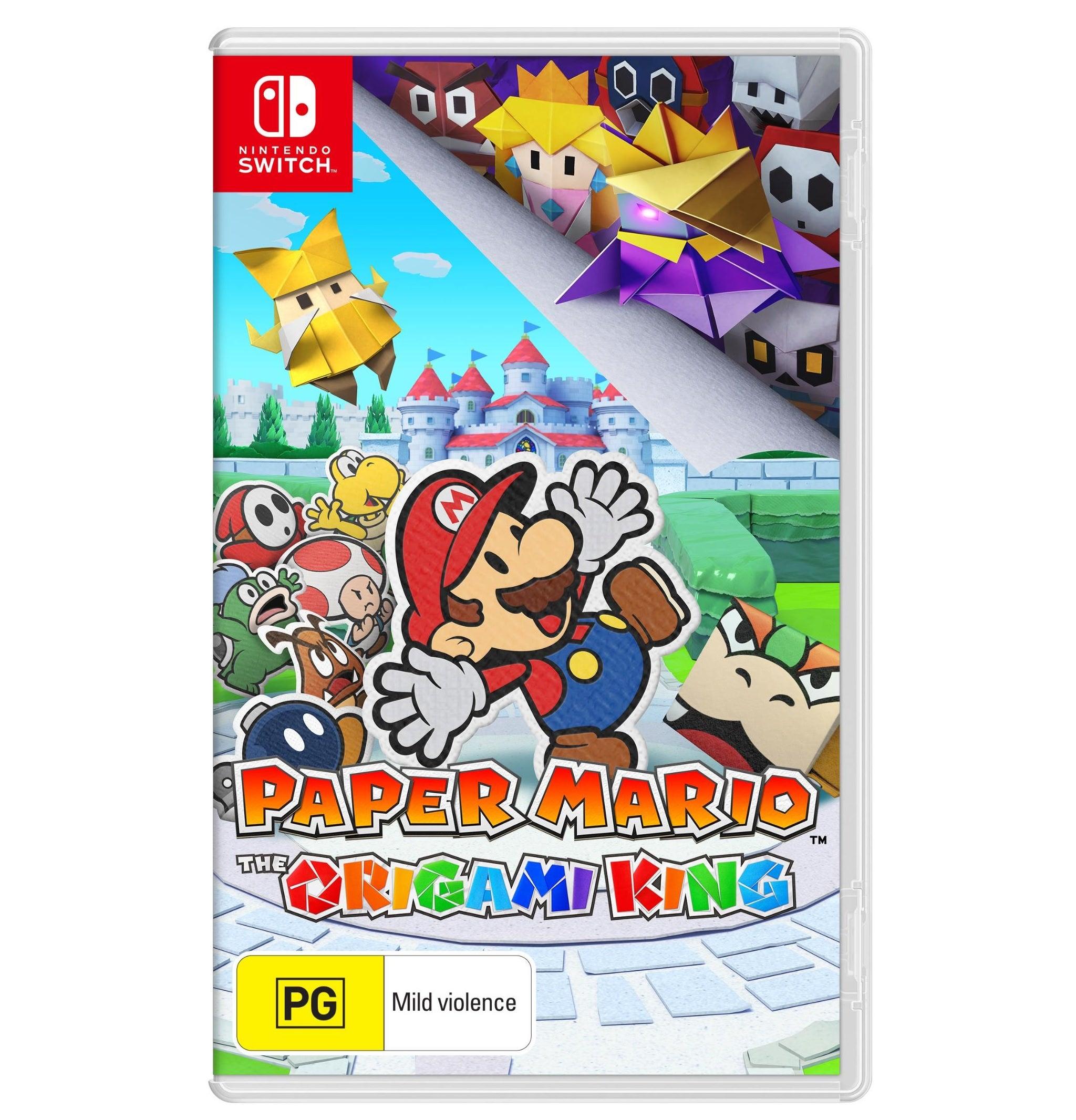 Nintendo Paper Mario The Origami King Nintendo Switch Game