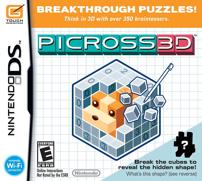 Nintendo Picross 3D Nintendo DS Game