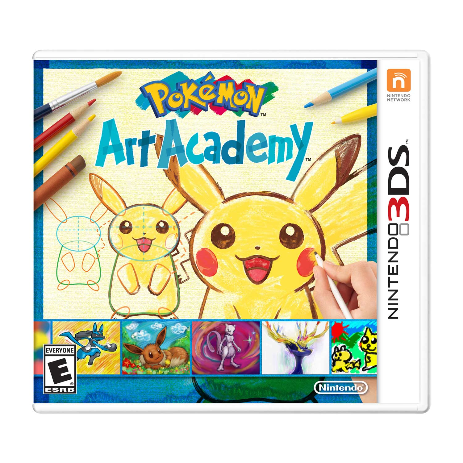 Nintendo Pokemon Art Academy Nintendo 3DS Game