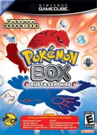Nintendo Pokemon Box Ruby and Sapphire GameCube Game
