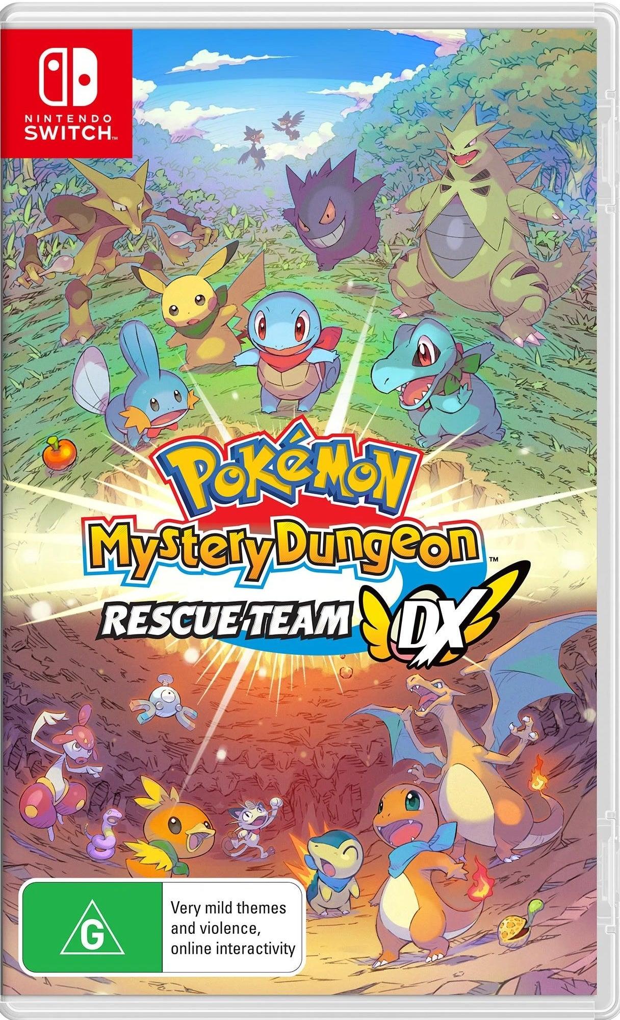 Nintendo Pokemon Mystery Dungeon Rescue Team DX Nintendo Switch Game