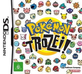 Nintendo Pokemon Trozei Nintendo DS Game