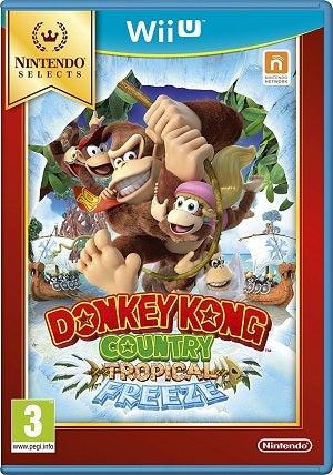 Nintendo Selects Donkey Kong Tropical Freeze Nintendo Wii U Game